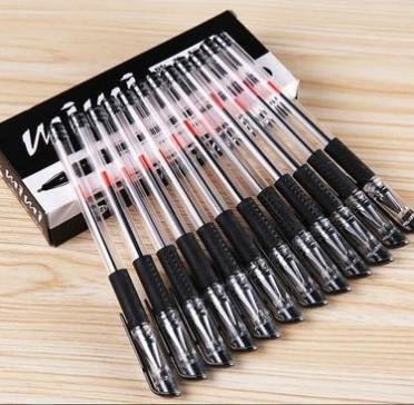 厂家直销 欧标中性笔 广告笔 商务签字笔 小量定制 黑色水笔