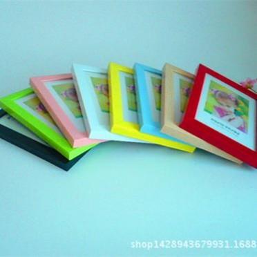廠家直銷塑料畫框兒童相框擺臺掛墻 影樓照相館相片沖印像框