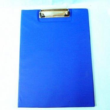 A4文件夾子 雙開辦公紙板夾 翻開式雙面寫字板 硬塑料板資料夾