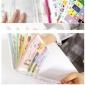 韩国贴纸收纳册卡通套装可爱动物乐园-纸质-透明8张入附小资料册